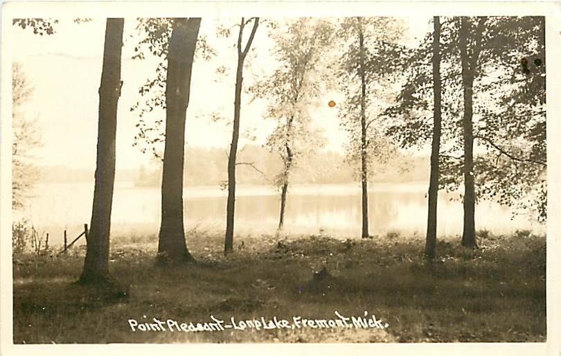 Lake in the early 1900s.  Pictures submitted by Ken and Vickie