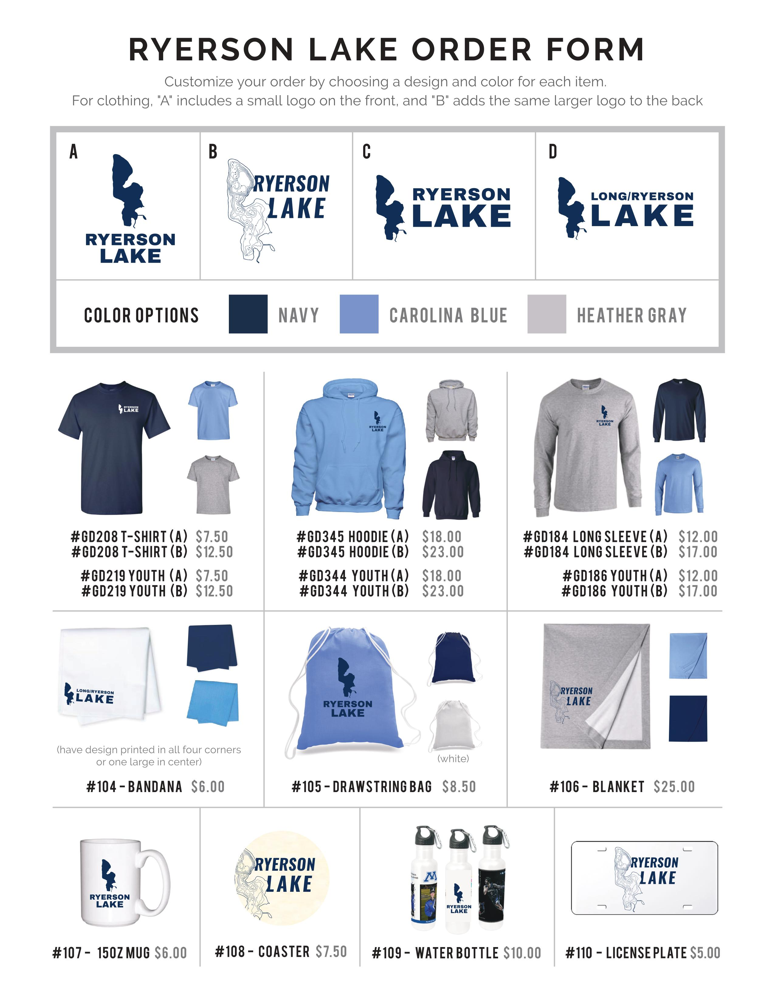 Updated Apparel Form